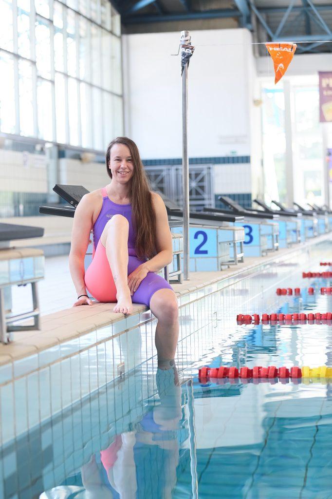 Tjaša Vozel, olimpijska plavalka